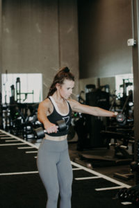 Lateral Raise in Frontal Plane